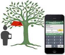 Integrated Pest Management scouting with mobile application, right in the field
